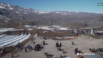 Ski resorts using artificial snow amid driest winter in 6 decades