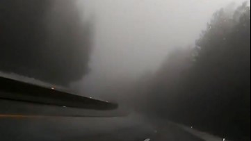 Eerie, foggy commute has the feel of 'Silent Hill'