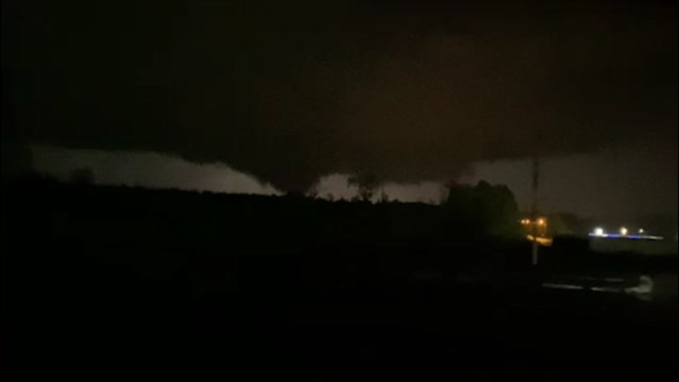 Tornado touches down in Mississippi amid severe weather outbreak