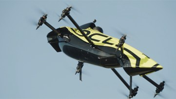World's First Manned Aerobatic Drone Loop de Loops in Successful Test