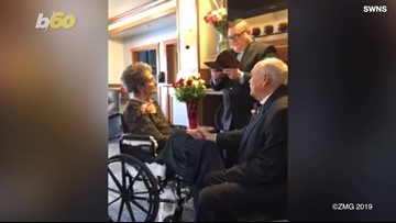 Elderly Couple Makes Love Official So They Can Be 'Together in Heaven'