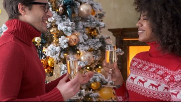 Here's How You Can Be There for Your Partner During Holiday Family Drama