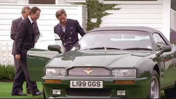 Prince Charles' Former Car Was Auctioned With A Quirky Armrest Feature