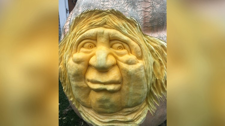 Must See! This Is the Incredible Timelapse of a Nearly 1,500 Pound Pumpkin Being Carved for Halloween