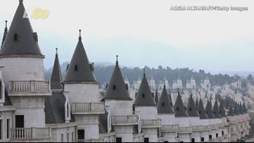 Abandoned Village of Disney-Like Castles Hoping for Magic
