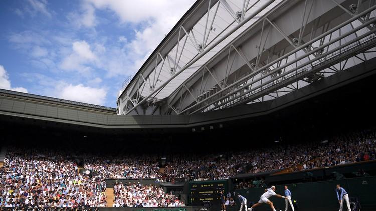 APTOPIX Britain Wimbledon Tennis
