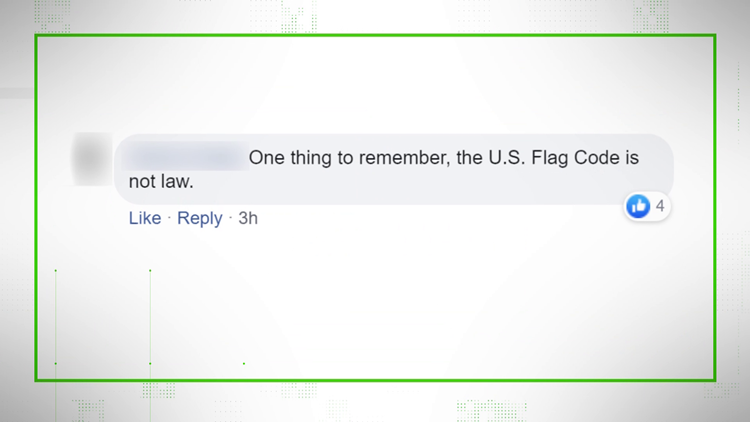 VERIFY: Flag Code Comment