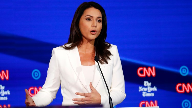 Tulsi Gabbard fires back at Clinton suggestion she's Russia's pawn