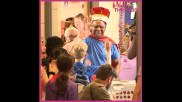 HeartThreads: 83-year-old custodian gets royal sendoff from school
