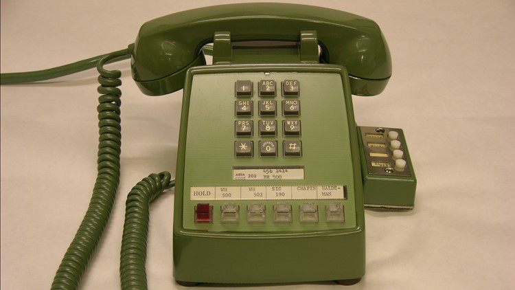 Phone used to call the astronauts
