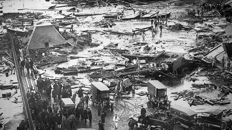 Here's how strict construction codes were started by a giant tidal wave of molasses