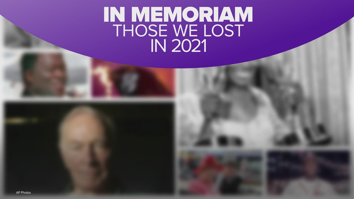 In memoriam: Those we lost in 2021