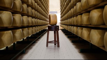 US consumers are snapping up Italian Parmesan before tariffs hit
