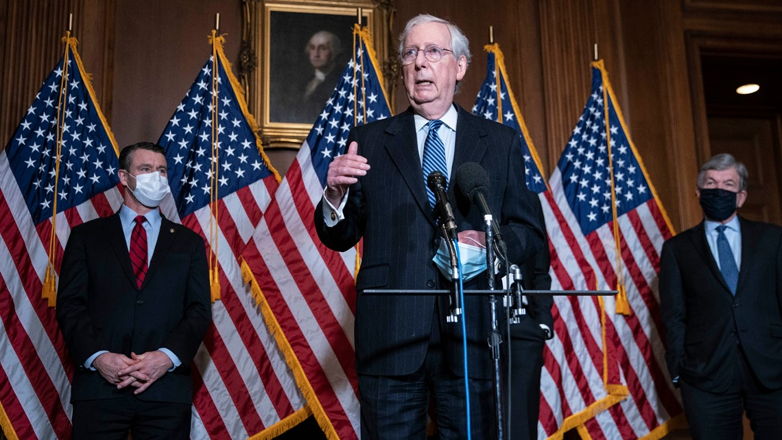 McConnell supports Trump impeachment launch: Reports ...