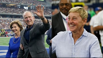 Ellen DeGeneres responds to criticism of her recent spotting with former President George W. Bush