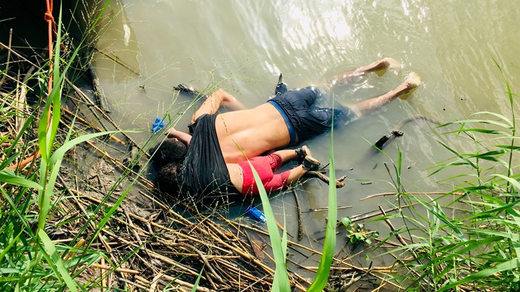 Mexico US Border Migrant Deaths graphic photo