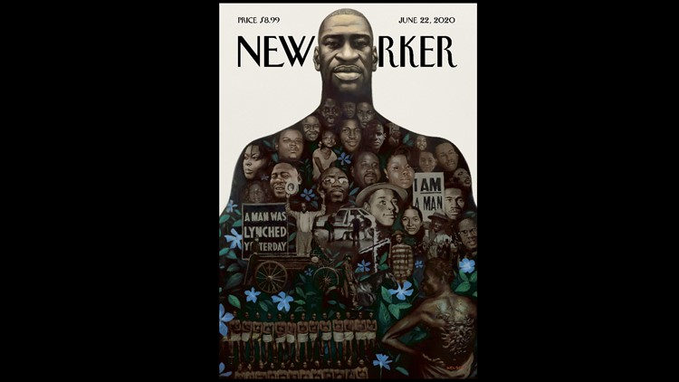 New Yorker cover remembers George Floyd, MLK, Tulsa, history of ...