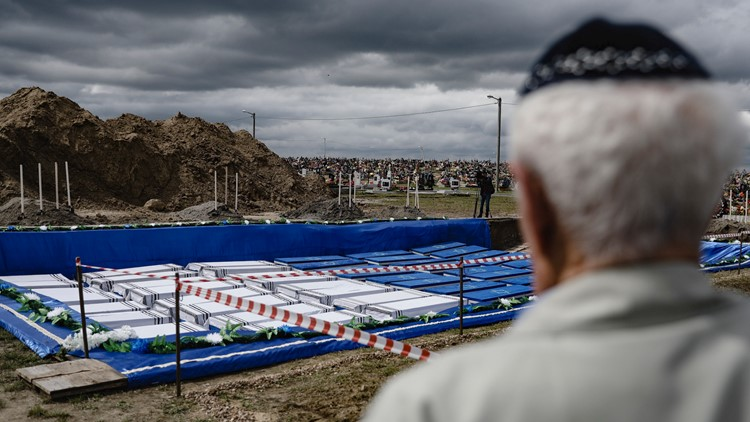 Belarus Holocaust Burial May 22