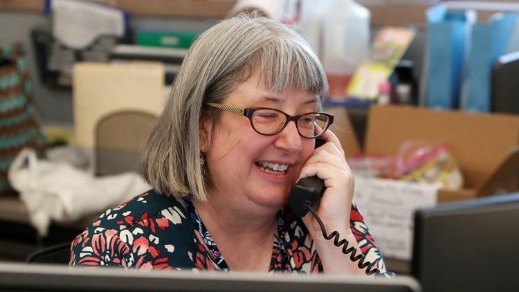 phone call chat older elderly during coronavirus
