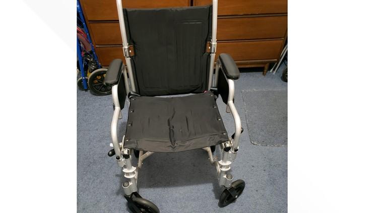 Jeffrey Witt wheelchair