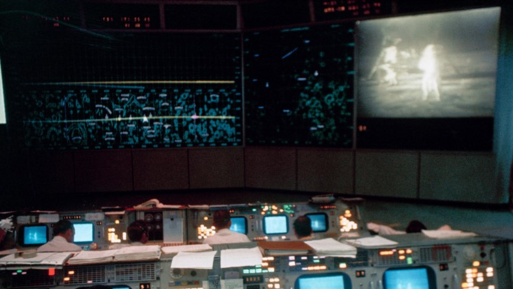 Moon Landing Mission Control