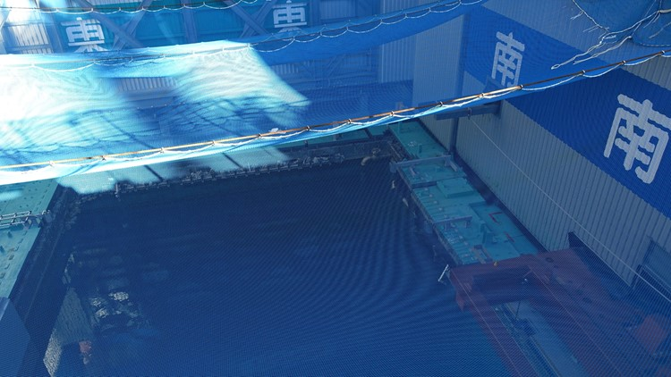 Japan Nuclear cooling pool