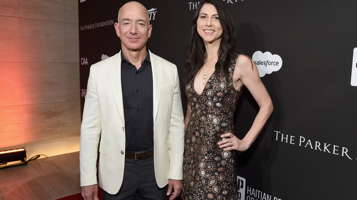Amazon Founder Jeff Bezos And Wife Divorcing After 25 Years