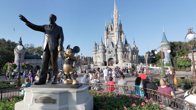 Disney World January 2020 AP file photo