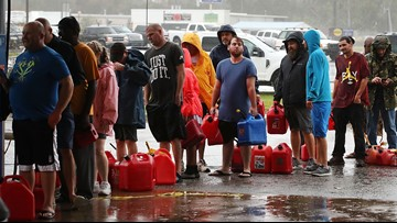 Florence flooding spreads as storm heads northeast