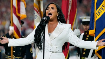 Demi Lovato delivers powerful Super Bowl anthem