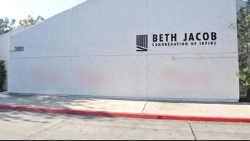After Pittsburgh, California synagogue vandalized with anti-Semitic graffiti