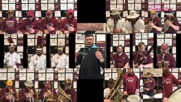 One man band: Teacher records 22 parts of 'Pomp and Circumstance' to honor seniors
