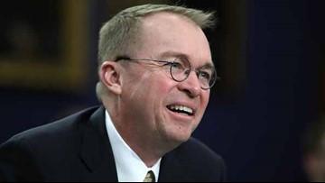 Trump names Mick Mulvaney acting chief of staff
