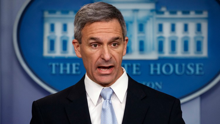 Acting Director of United States Citizenship and Immigration Services Ken Cuccinelli