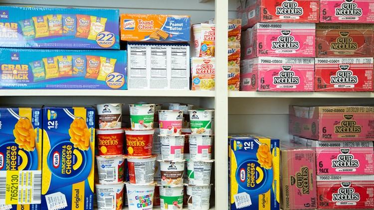 Veronica Scarborough snack shelves