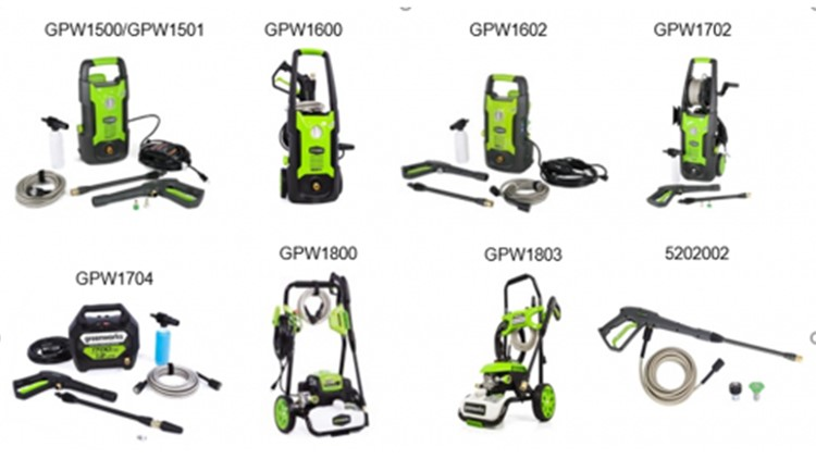 More than 1 million pressure washer spray guns recalled due to safety hazard