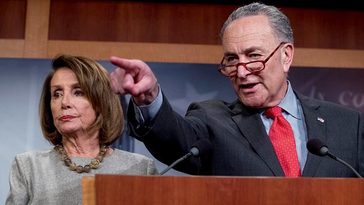Top Democrats Pelosi, Schumer urge full release of Mueller report