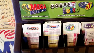 Winning numbers for Wednesday's $562 million Powerball drawing