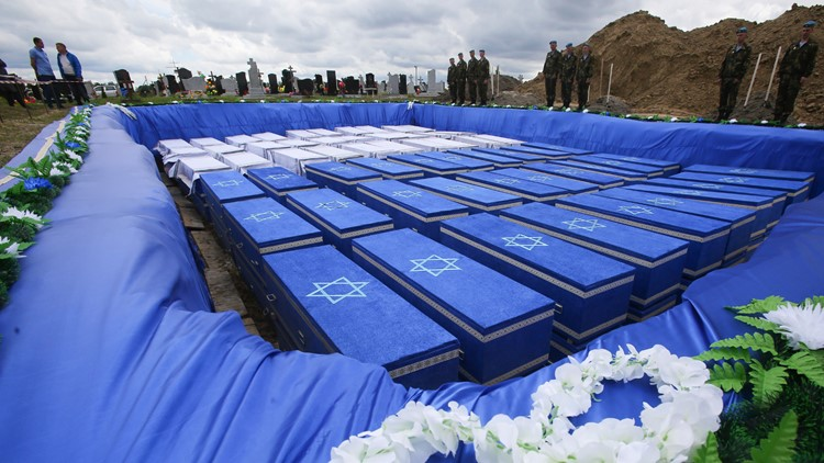 Holocaust Burial Belarus May 2019 discovery