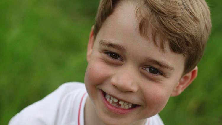LOOK | UK palace releases new Prince George photos as he turns 6