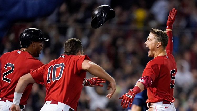 Red Sox on to ALCS after walk-off 6-5 win to eliminate Rays
