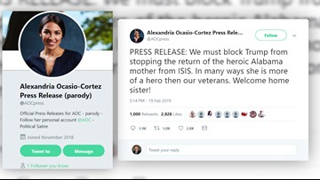 VERIFY: No, AOC didn't call for ISIS member to be let back into U.S.