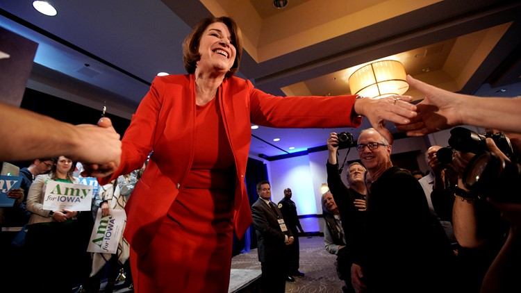 APTOPIX Election 2020 Amy Klobuchar