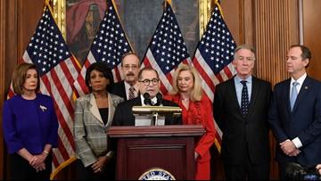 Democrats unveil articles of impeachment against Trump