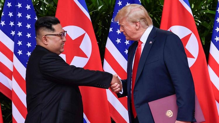 Trump Kim Summit Day in Photos