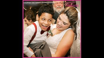 Special education teacher invites students to wedding
