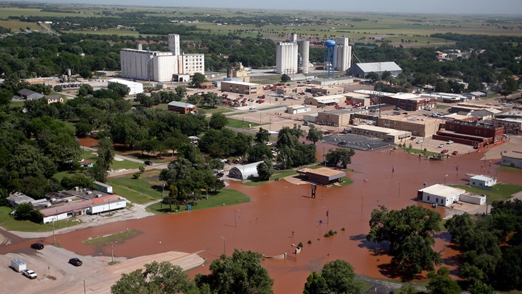 Severe Weather flooding in Oklahoma May 21