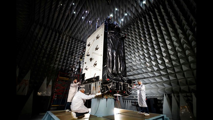 US Air Force set to launch its first next-generation GPS satellite on Tuesday