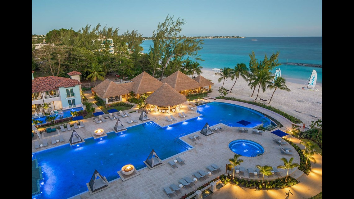 Sandals Royal Barbados Is A 222 Suite All Inclusive On Maxwell Beach