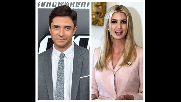 Topher Grace reveals what really happened when he dated Ivanka Trump